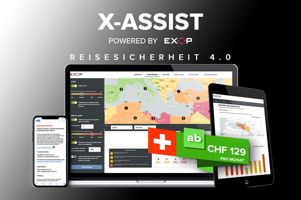 X-Assist Reisesicherheit